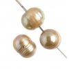 Freshwater Pearl 5-6.5mm Round Groove Grey